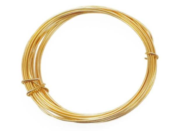 Gold Small Coil Floral Wire